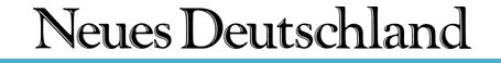 Neues Deutschland  daily newspaper / dennik